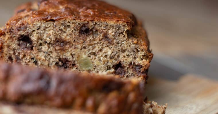 My Favorite Healthy-ish Banana Bread