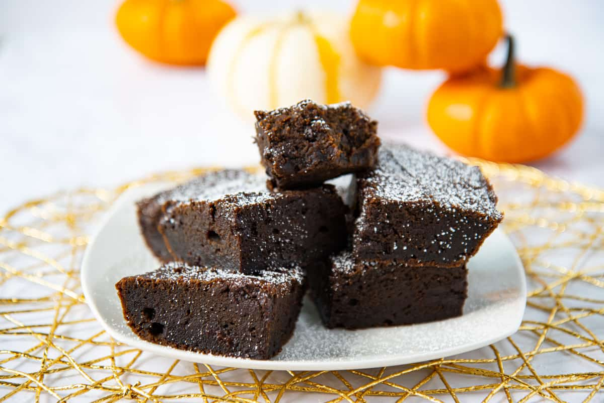 Pumpkin Spice Brownies
