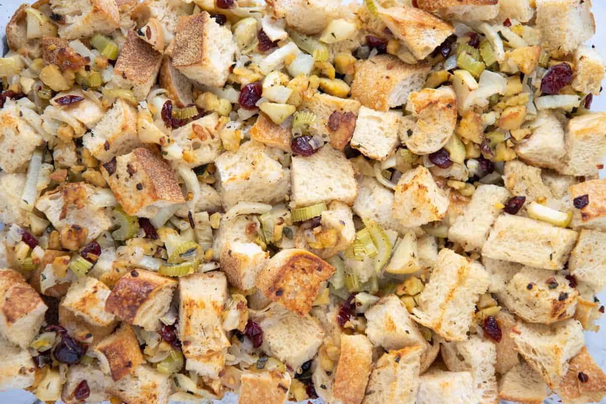Fennel Apple and Tempeh Stuffing