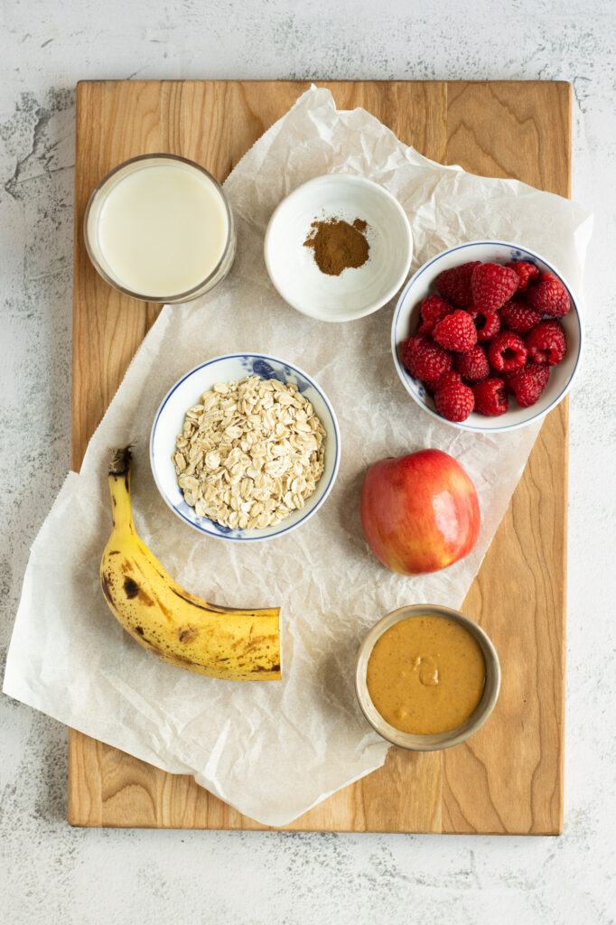 everyday oatmeal ingredients