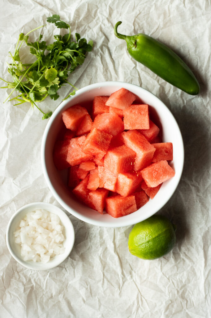 watermelon salsa ingredients